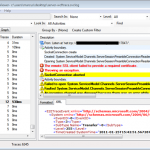 How to enable WCF tracing in FSIS