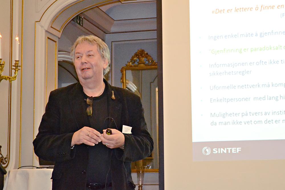 Kjell Skognes om SINTEFs søkeløsning SIPOK