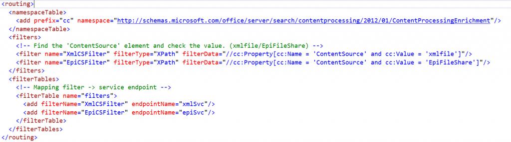 config file